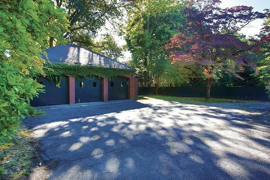 brookline mansion garage