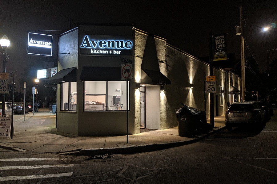 Avenue Kitchen + Bar in Somerville's Ball Square