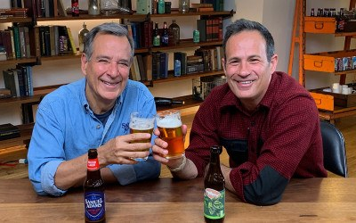 Boston Beer Co. founder Jim Koch and Dogfish Head founder Sam Calagione have joined forces with an unprecedented craft beer company