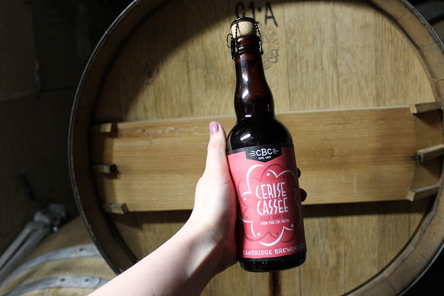 Cambridge Brewing Co. Cerise Cassee