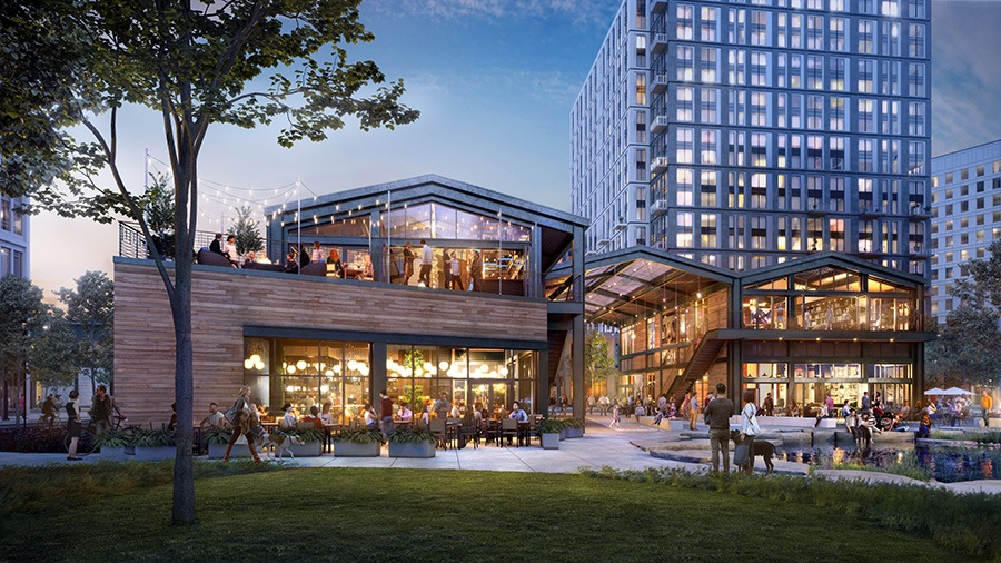 """The Shed"" at Cambridge Crossing will be home to a new, multi-concept restaurant from chef Will Gilson"