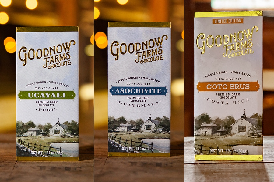 Goodnow Farms' Ucayali, Asochivite, and Coto Brus chocolate bars swept the dark chocolate category in the 2019 Sofi Awards.