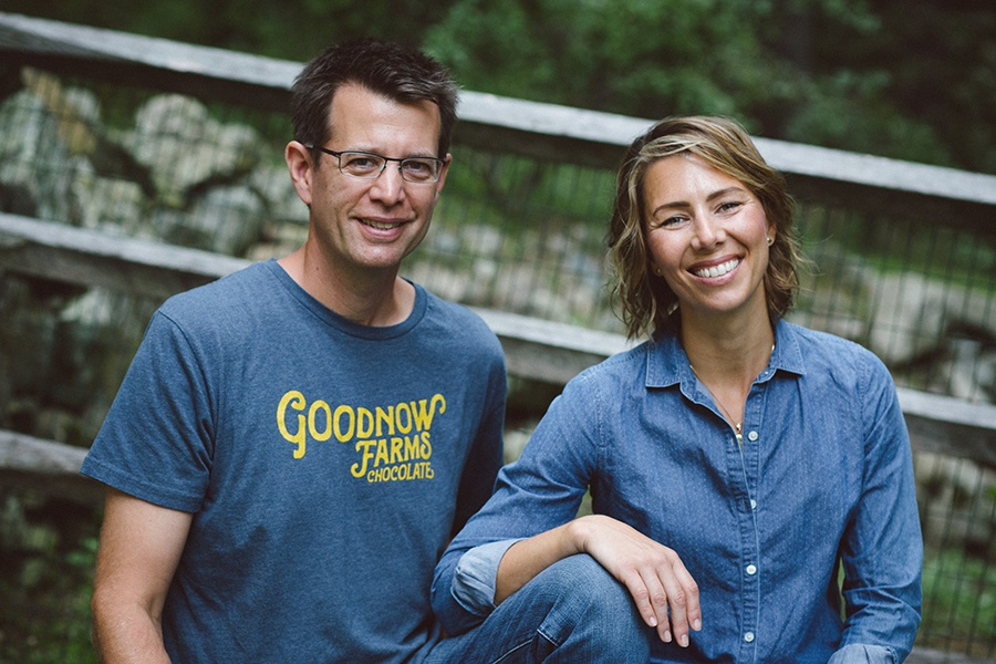 Tom and Monica Rogan of Goodnow Farms