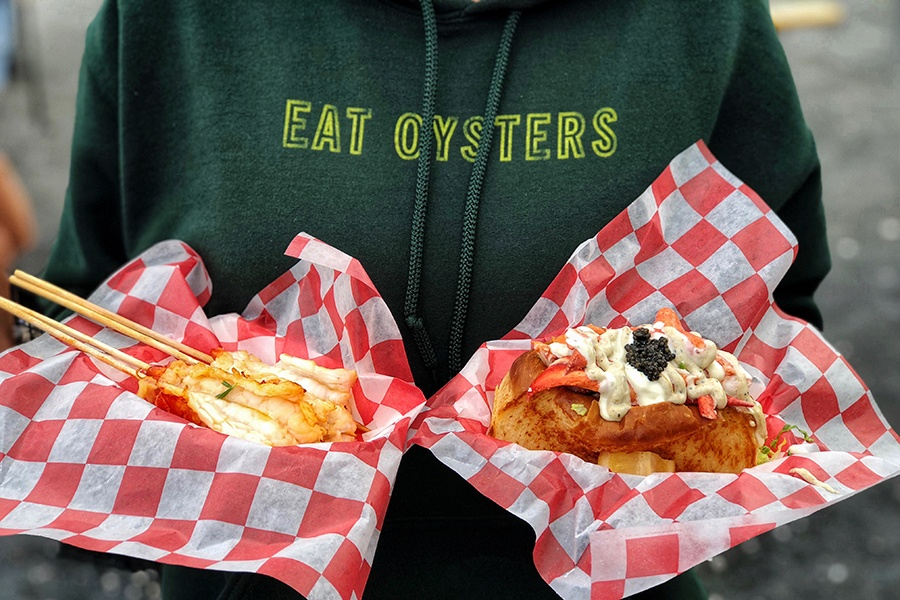 "Highroller Lobster rolls and ""lobby pops"""