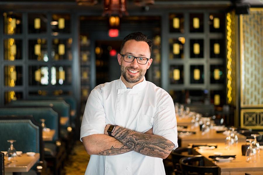 Mystique chef Anthony Micari