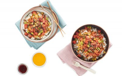 Karen Akunowicz has created a menu of poke and veggie bowls for a Boston location of Whole Foods