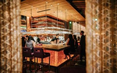 bar at Zuma Boston