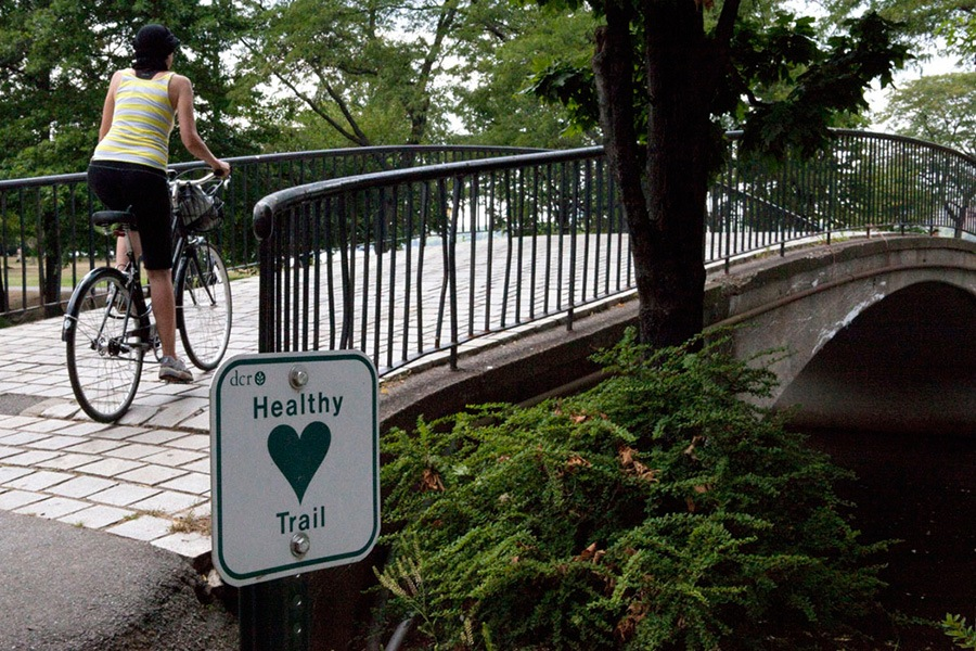 best bike trails in boston