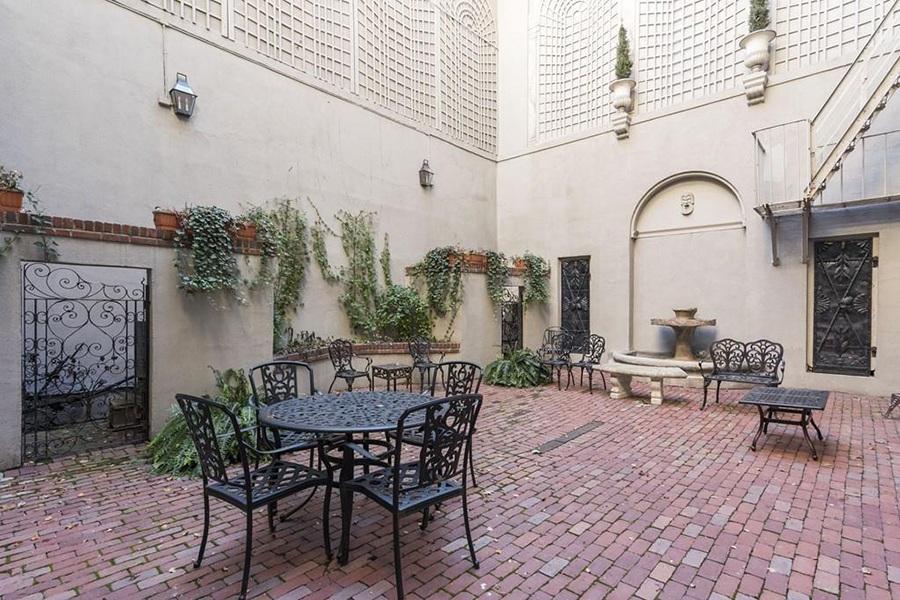 beacon hill courtyard