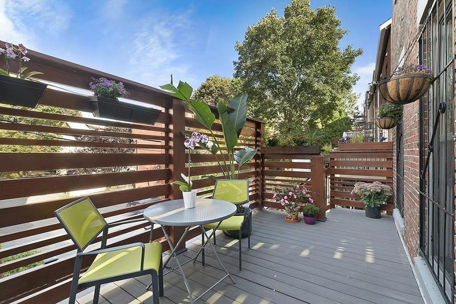 roxbury brownstone deck