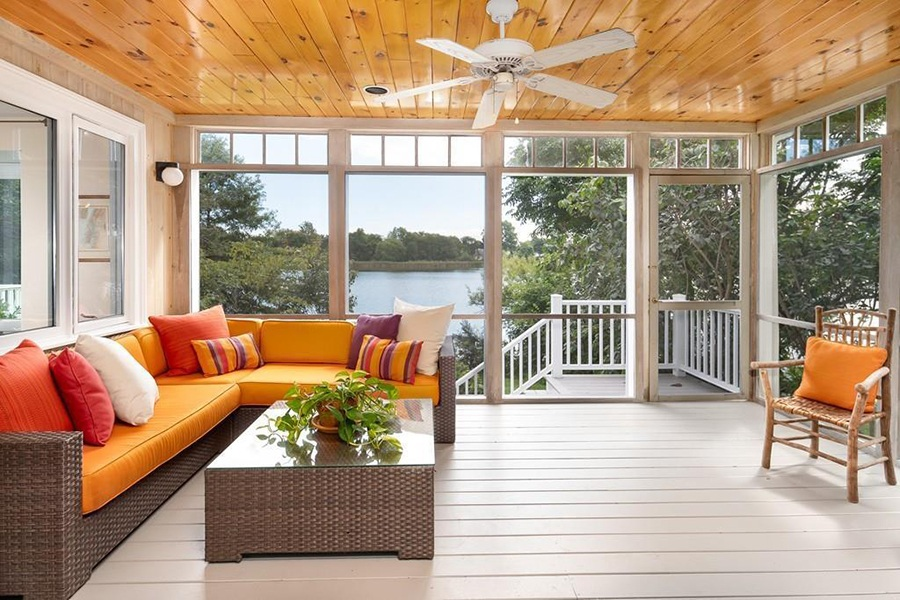 spy pond screen porch