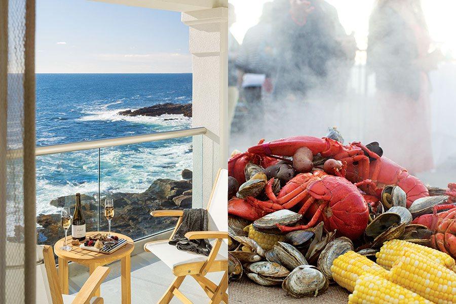 lobster beach cliff house hotel