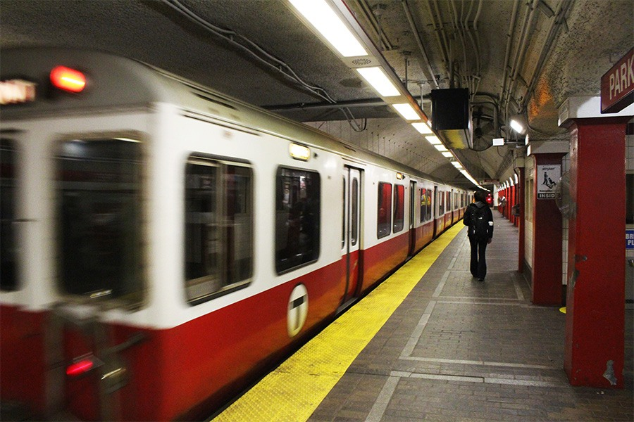 red line train