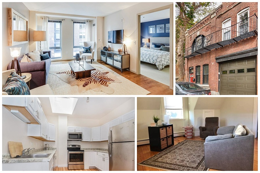 Five Boston Apartments for Rent with Assigned Parking