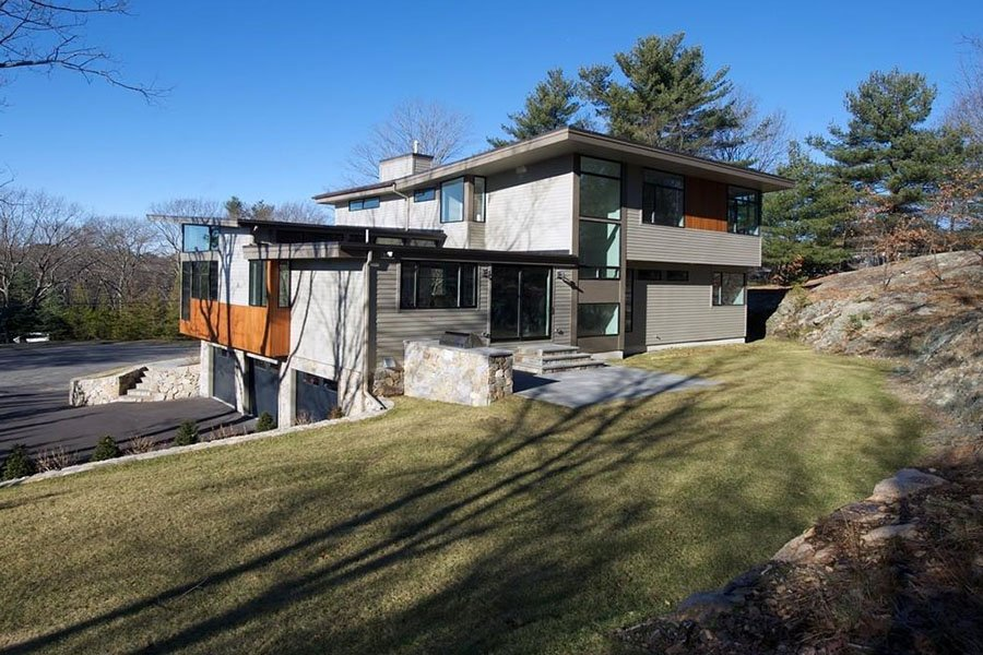 Wellesley modern home