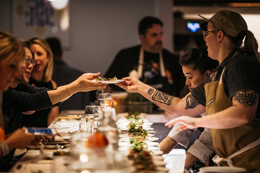 Two dozen chefs team up for the ChefsFeed Indie Week dinner series this month at Pagu.
