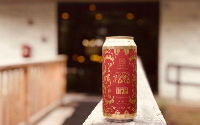 Lord Hobo Brewing Co. Project Baccarat, an easy-drinking IPA in a cool casino carpet-like can
