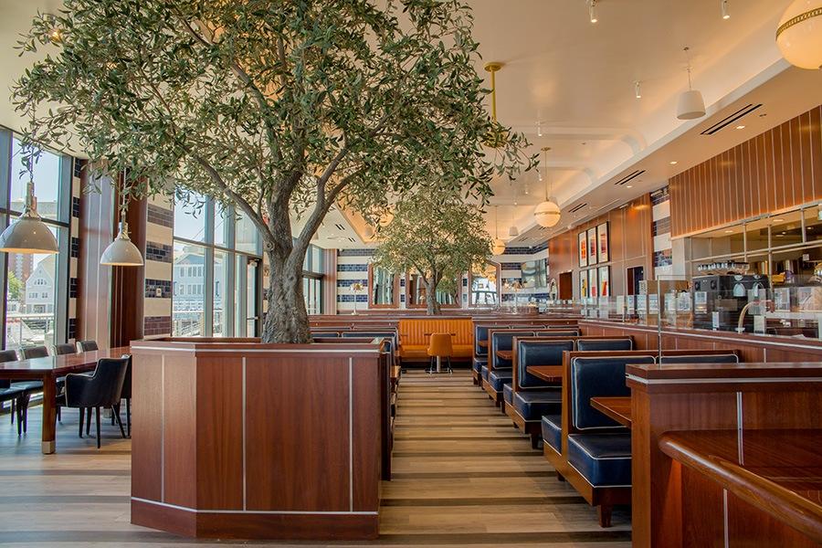 dining room overall ReelHouse Marina Bay