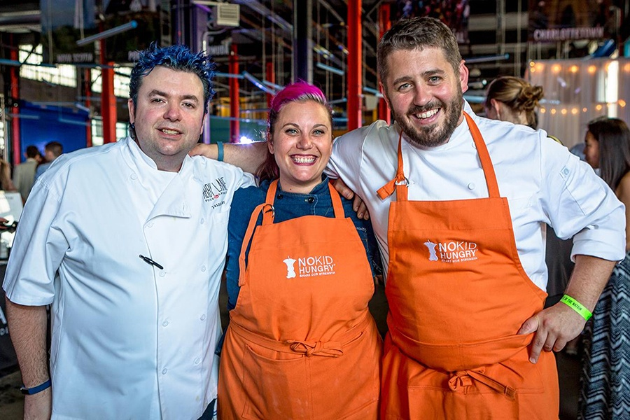 Chefs Jason Santos, Karen Akunowicz, and Will Gilson are part of the beloved Taste of the Nation event for No Kid Hungry