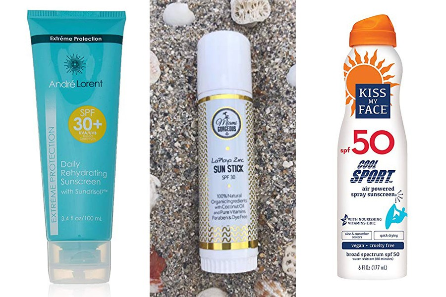 all-natural sunscreens