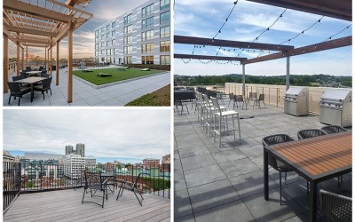 Boston apartments with roof decks