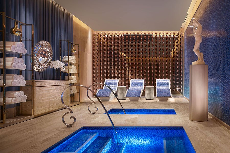 Peek Inside The Spa And Fitness Center At The Encore