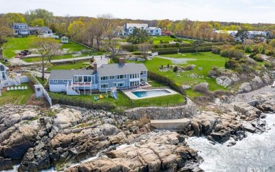 Cohasset oceanside home