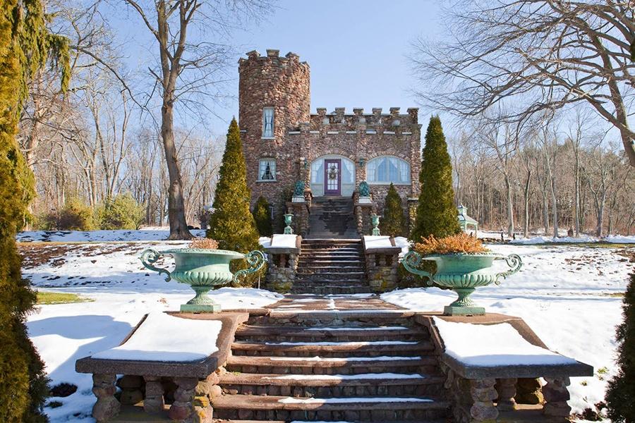 Connecticut castle airbnb