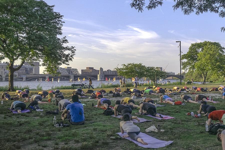 Esplanade free outdoor fitness