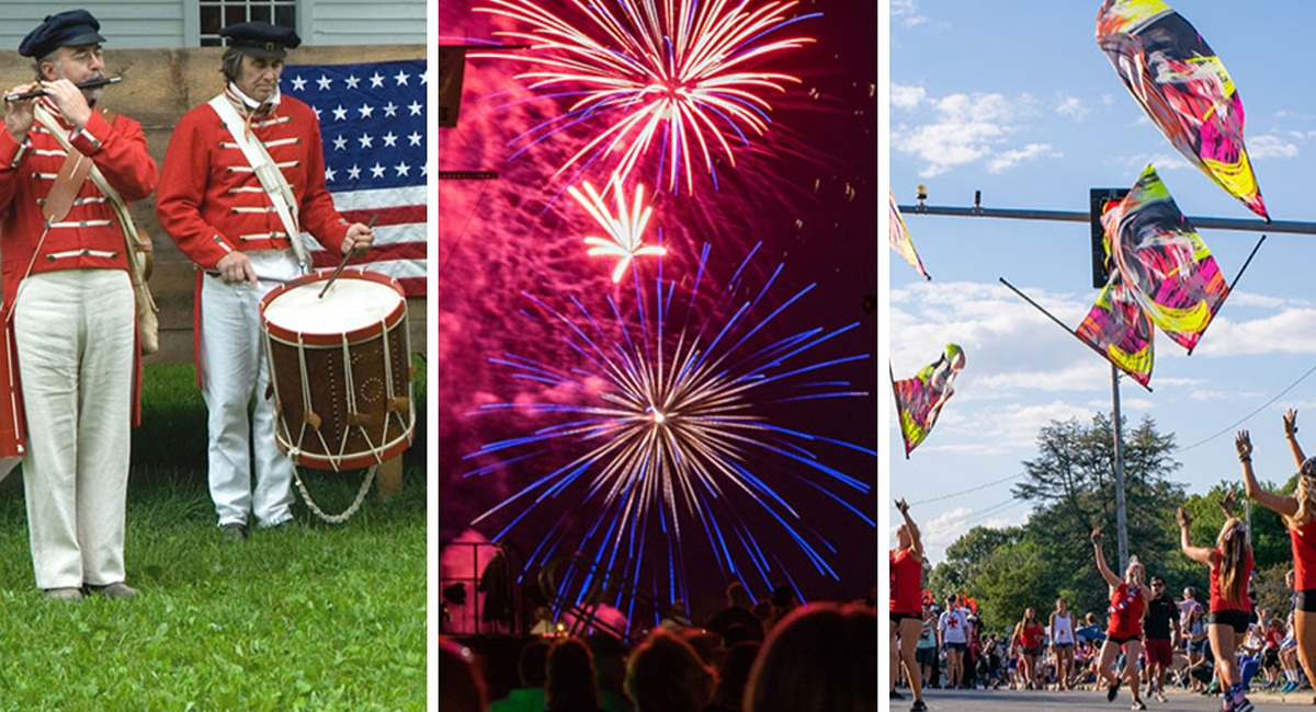 Five Places to Celebrate the Fourth of July Outside of Boston