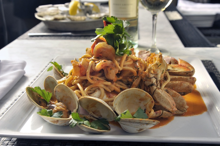 Fratelli linguini and clams