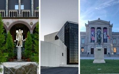 Gardner Museum, JFK Library, MFA