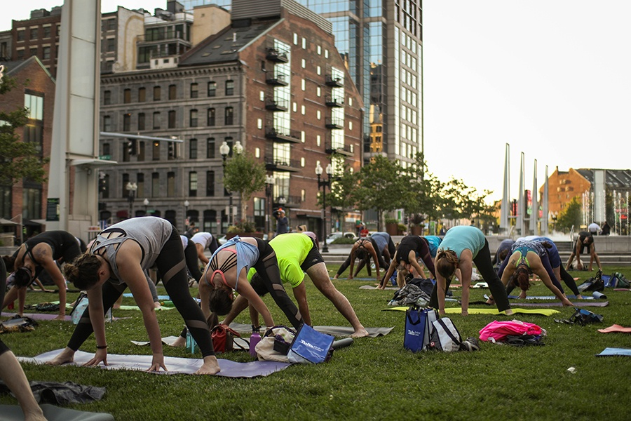 Greenway fitness series