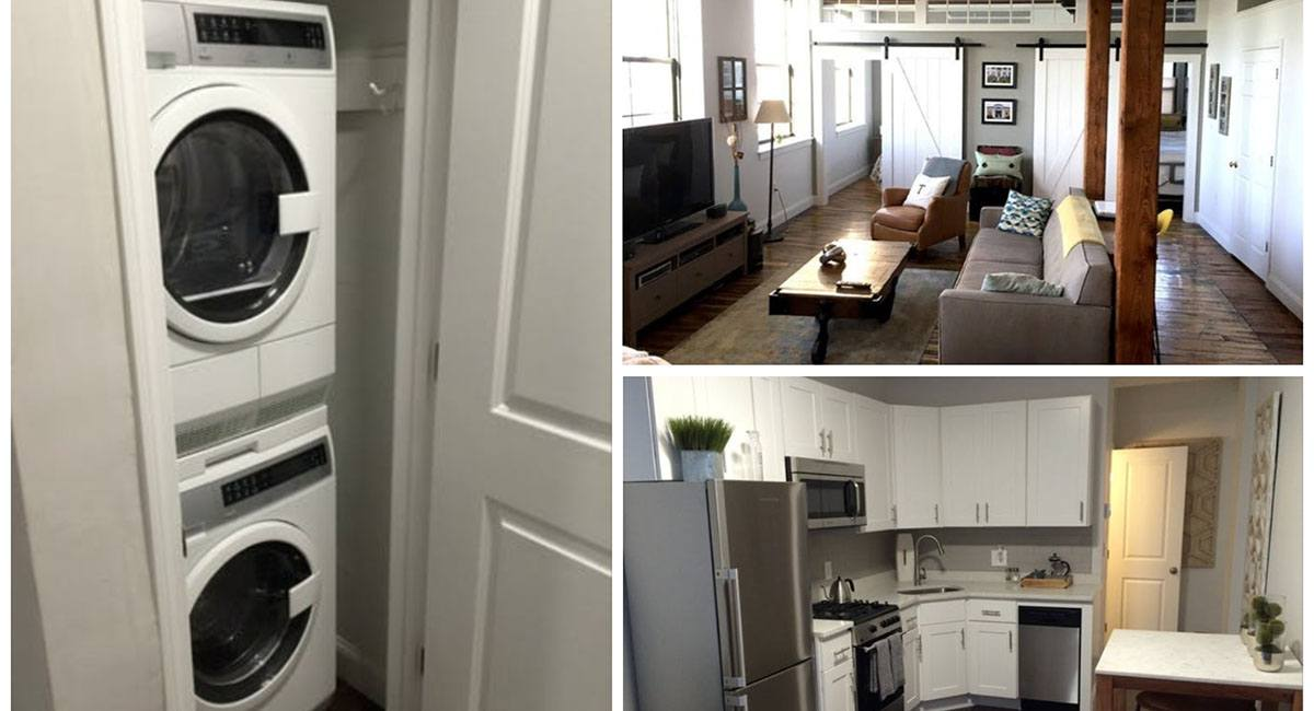 Five Apartments for Rent with In-Unit Washers and Dryers