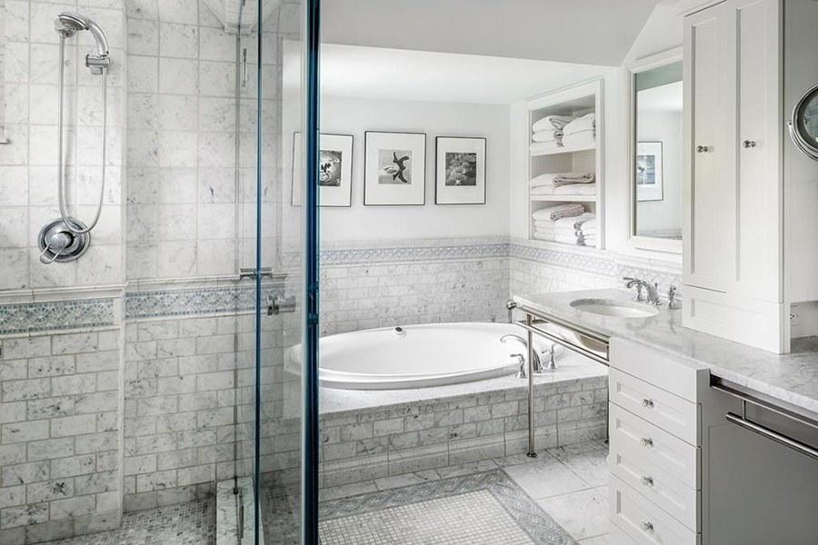 newton marble bathroom
