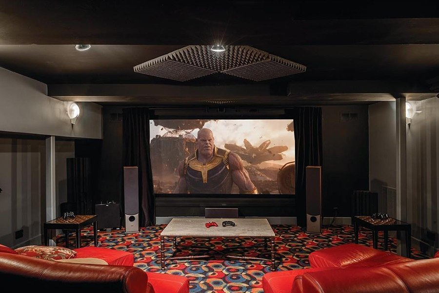 newton home movie theater