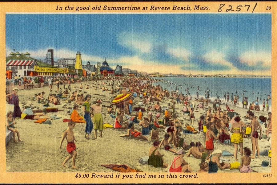 old Revere Beach postcard