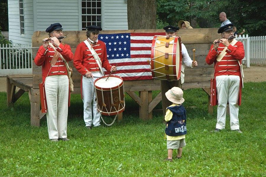 Old Sturbridge Village Fourth of July celebration