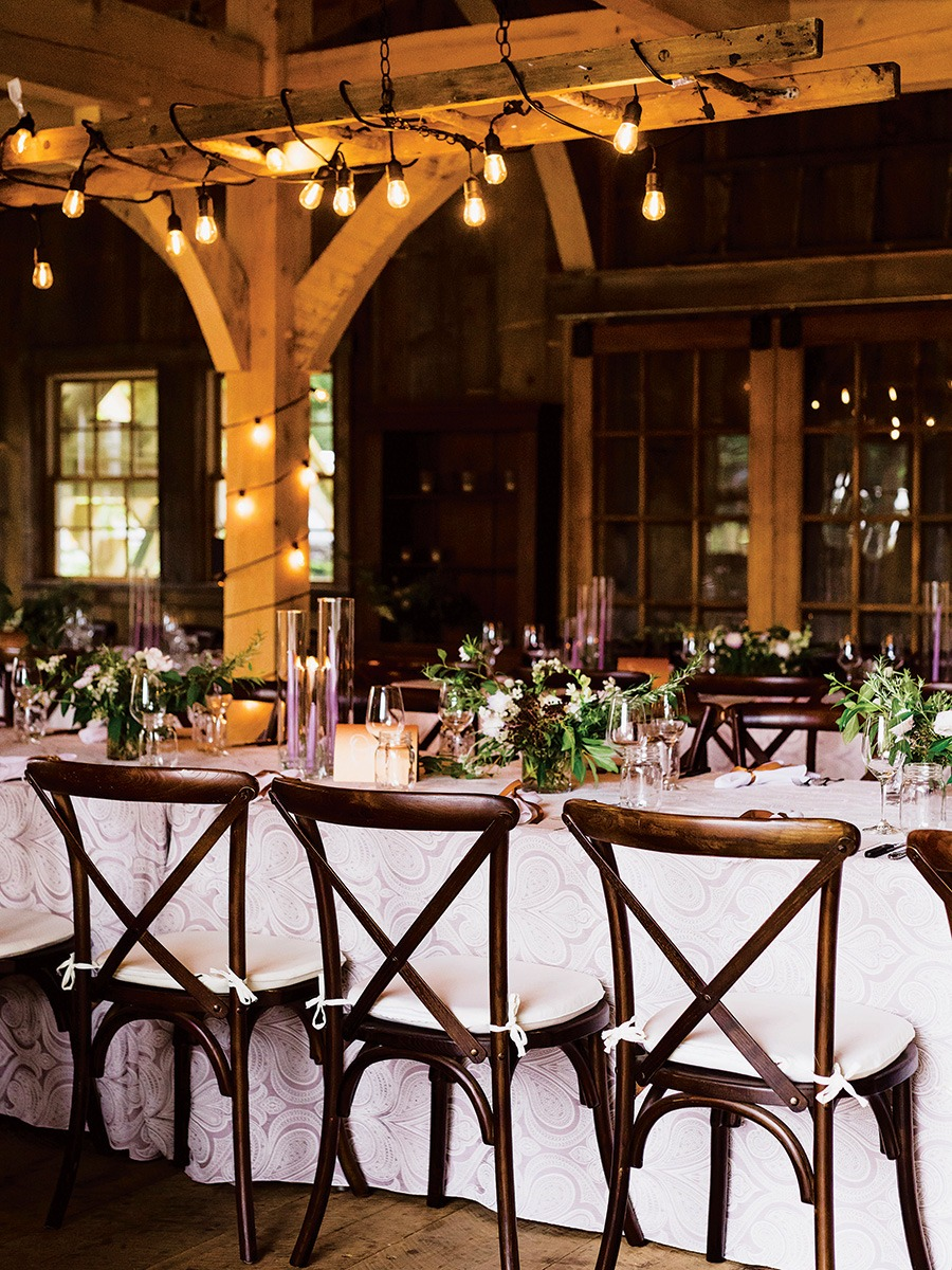 An Expecting Couple Plans A Barn Wedding At Primo