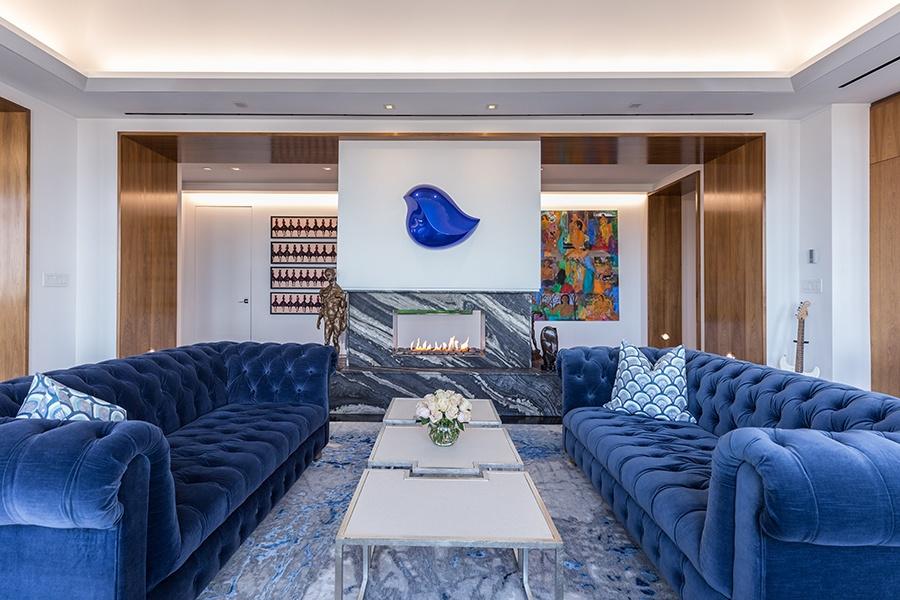 Mandarin Oriental penthouse