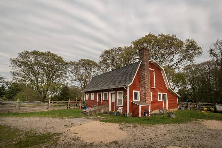 Rhode island farmhouse airbnb