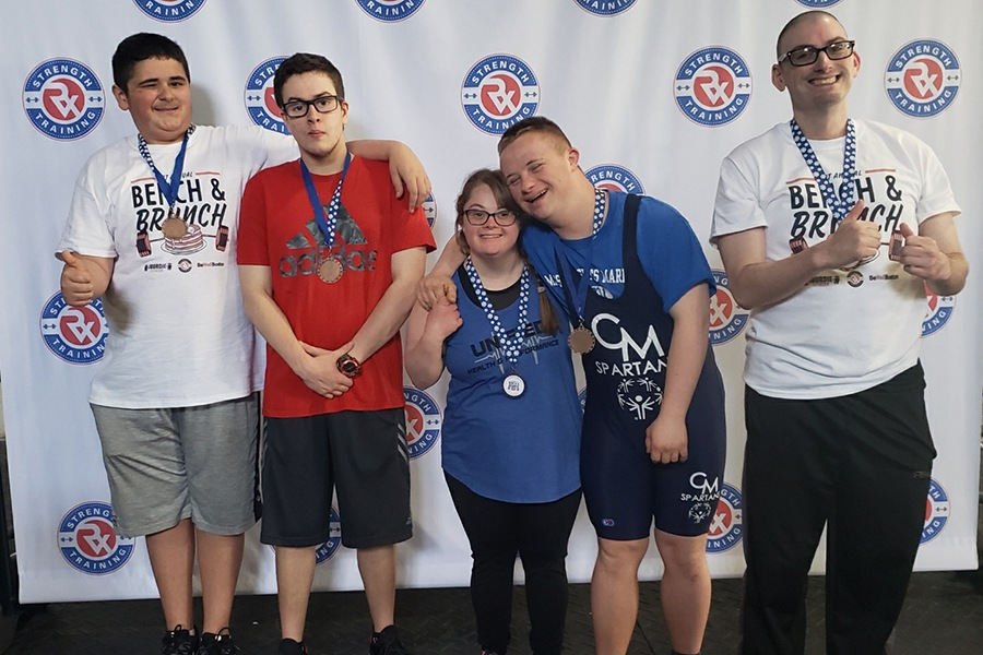 Cheer On These Powerlifters at the Special Olympics This Weekend