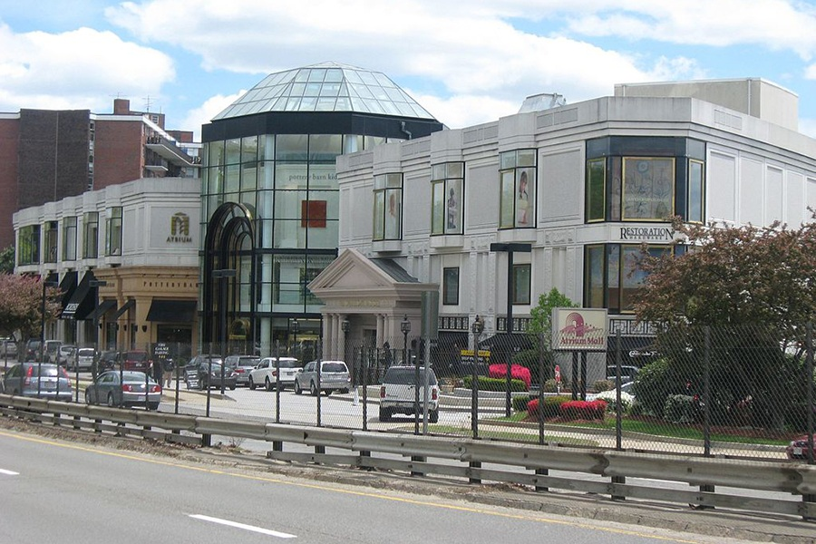 chestnut hill atrium mall