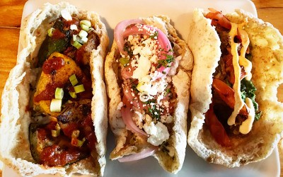 Tacos Arabes at Simcha bring Mexican-inspired Middle Eastern flavors to Sharon