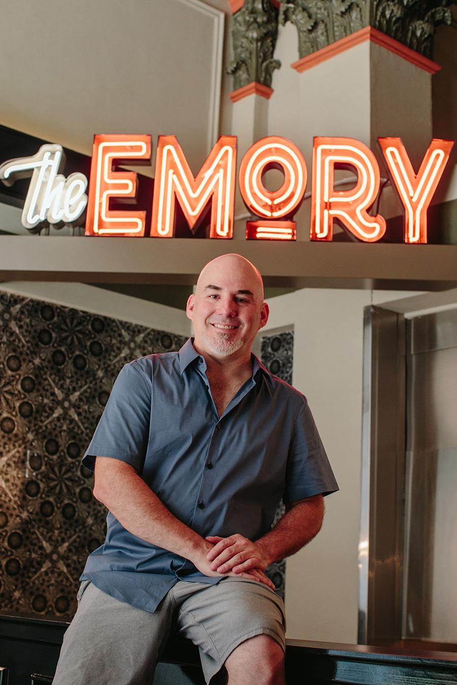 The Emory owner Andy Kilgore