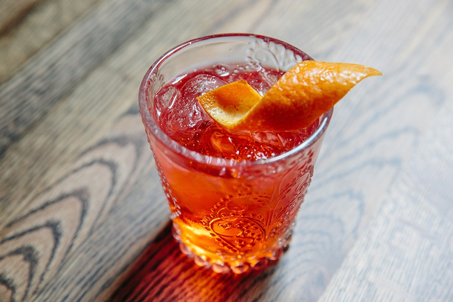 Smoke 'Em Out, with mezcal, at the Emory