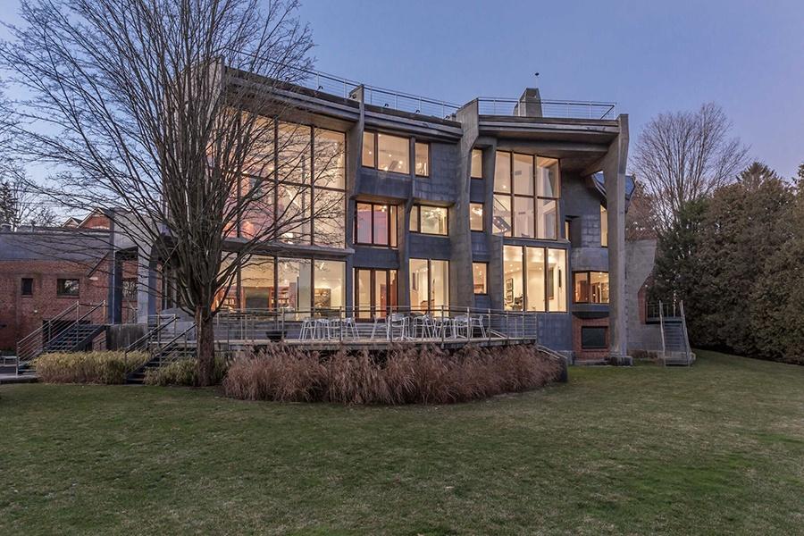 Brookline contemporary home