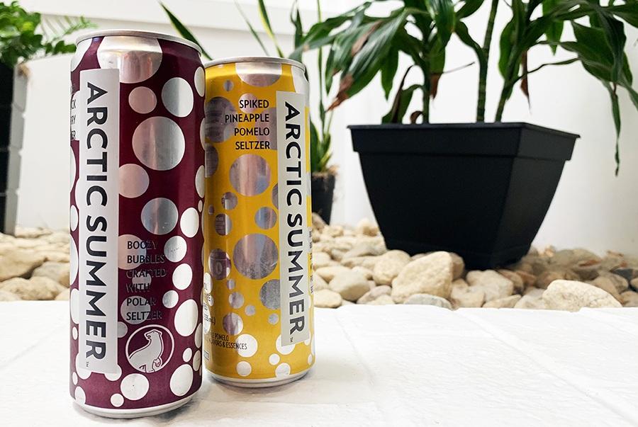 hard seltzer arctic summer cans