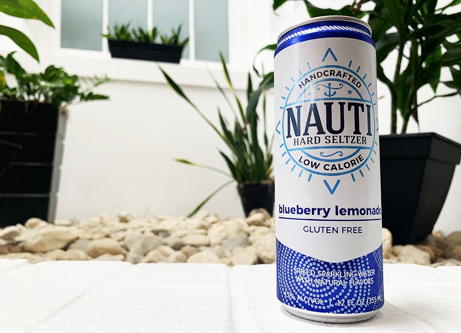 hard seltzer nauti blueberry lemonade