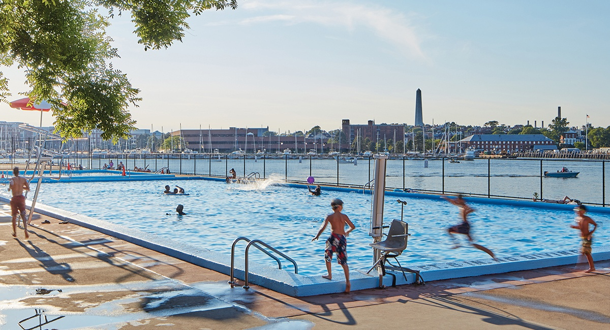 Here S A Comprehensive Map Of The Outdoor Public Pools In Boston